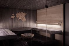 Beautiful Estonian home sauna. The unique design of Hive heater keeps the stones hot longer, guaranteeing a relaxing Hive electric sauna heater is inspired by pure Nordic nature, it is a thing of beauty in any sauna. Saunas, Electric Sauna Heater, Sauna Seca, Indoor Sauna, Sauna Design, Spa Rooms, Technology Design, Home Spa, Nordic Design