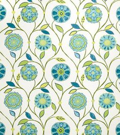 Home Decor Print Fabric- Eaton Square Seashore-Caribbean Floral/Foliage & home decor print fabric at Joann.com