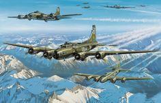 1943 08 17 Ratisbona incursión B17-E 'Wolf Pack' 100o BG - Benjamin Freudenthal Historia completa sobre el piloto y la tripulación https://100thbg.com/index.php?option=com_bombgrp&view=personnel&id=5628&Itemid=122