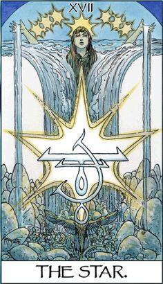 Tarot; 17 The Star ~ Michael Wm Kaluta**