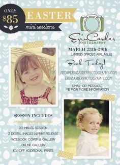 Erin Carder Photography: Easter Mini Sessions