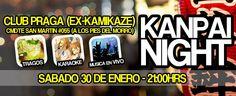 KANPAI NIGHT! 2016 - Arica, Chile, 30 de Enero 2016 ~ Kagi Nippon He ~ Anime Nippon-Jin