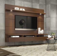 Un centro de entretenimiento también puede ser una opción que le de estilo a tu hogar