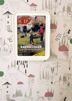 Framed magazine cover | Gerahmtes Magazincover