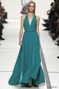 Elie Saab ss 2014: Everything but the neckline