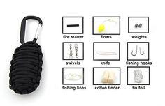 US ARMY emblème Zippo Briquet Fire Starter pour Camping Survie Urgence Kits