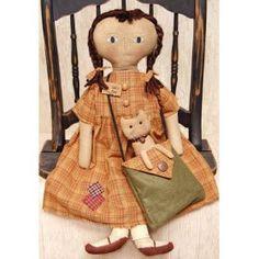 Katies Kitten Doll Country Rustic Primitive $32.00