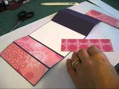 Stamp & Scrap with Frenchie: Double Z card Video by Frenchie