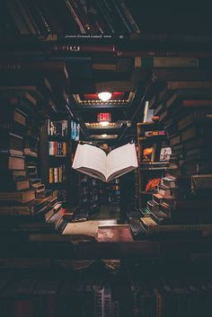 view of floating open book from stacked books in library Spent a week in Los Angeles with my friends and […] Wallpaper Mundo, Book Wallpaper, Wallpaper Backgrounds, Conceptual Photography, Book Photography, Inspiring Photography, Iphone Wallpapers, Cute Wallpapers, Business Icons