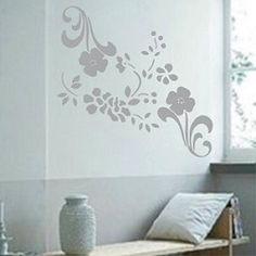 Floral Adornments Wall Decals