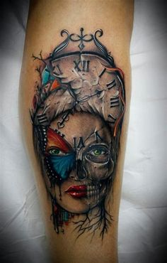 male forearm intricate tattoos - Google Search