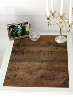 DIY  French Opera Table  TUTORIAL