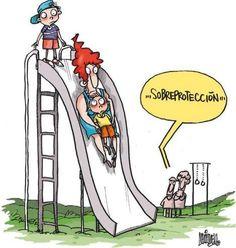 El blog de Psicología - Sobreprotección infantil