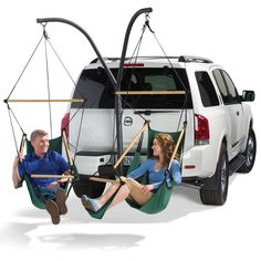 The Tailgaters' Hammocks - Hammacher Schlemmer How cool would this be to have for the drive in?