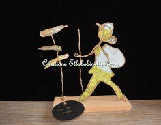 figurine papier sur commande figurine par etlabobinettecherra