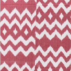Gorgeous hand woven chevron ikat tablecloth- available online now at www.ecruonline.com #ecru #ikat #handmade #artisan #tableware #homeware #decor #interiors #design #decor #weave #tablescape #online #shopping