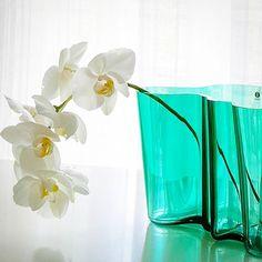 Iittala - Alvar Aalto - Orchid - Emerald - Green