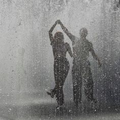I want to dance in the rain with my hubby Ian Barret before I die!!!!!