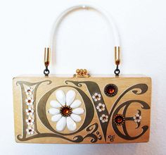 Love this Enid Collins of Texas purse - so cool for #Valentine's Day, weddings, anniversaries!