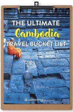 cambodia bucket list