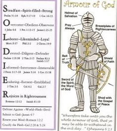 Put on the whole armor of god uplifting words for Tattoo shops in mcallen