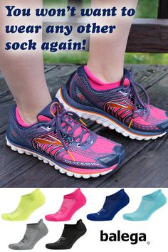 Currently the #1 selling running sock in the USA, but great for any fitness activity. Balega Hidden Comfort provides premium moisture-wicking performance, full-length cushion and fun colors! Available with a 30 day money back guarantee from our site Fun Fit Feet!