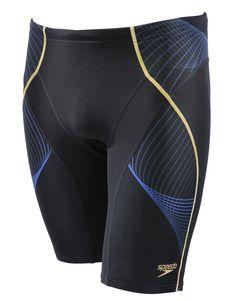 Speedo Endurance Plus Speedo Fit Pinnacle Jammer - Black and Blue | Simply Swim UK