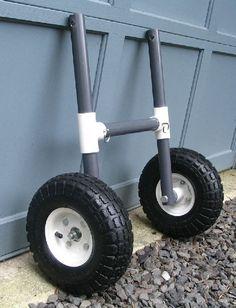 Image result for pvc kayak cart