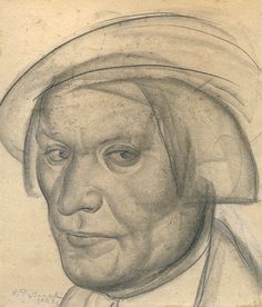 Константин Иванович Рудаков (1891–1949гг). Портреты. - Журнал обо всём