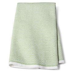 True White Uv Calibrated Dobby Terry Kitchen Towel Green Kitchen Towel - Threshold™ : Target