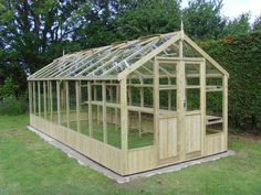 Swallow Raven 8x20 Greenhouse with Double Doors FREE INSTALLATION £3187.00  http://www.greenhousestores.co.uk/Swallow-Raven-8x20-Wooden-Greenhouse.htm