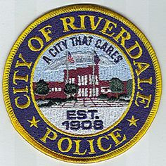 US State of Georgia, City of Riverdale Police Department Patch