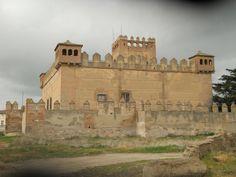 Castillo del Duque de Montellano. Narros de Saldueña (Avila)