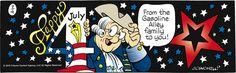 Gasoline Alley Comic Strip, July 04, 2016     on GoComics.com