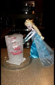Fred's been Frozen! ! #elfontheshelf   Http:// ladylashlovers.com
