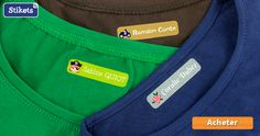 Étiquette vêtement thermocollante et super résistante. Pour personnaliser les vêtements des enfants avec leur prénom, nom, etc. Livraison gratuite.