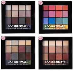 New NYX Ultimate Shadow Palettes (Compare to Viseart Palettes) | Nouveau Cheap