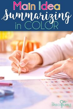 Main Idea and Summarizing are two skills that students always seem to struggle with.  Using the  color coding strategy in the packet, your students will learn an efficient technique to find main ideas and create summaries.