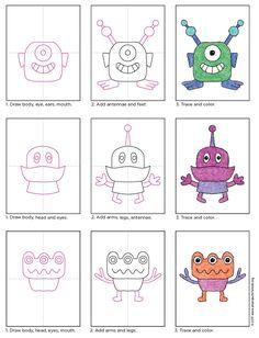 draw aliens