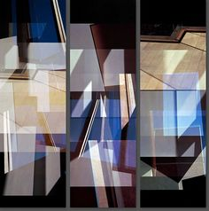 Carmy House Floor Triptych - Jenny Okun - pictures, photography, photo art online at LUMAS