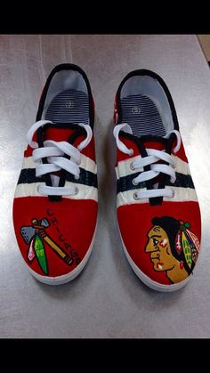 93fb9a5ad30d62 7 Best Custom Shoes Painted Hockey images