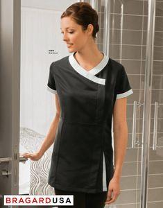 Bragard Nubia Female Housekeeping Tunic Spa Uniform, Hotel Uniform, Maid Uniform, Uniform Shirts, Staff Uniforms, Work Uniforms, Dental Uniforms, Cleaning Uniform, Housekeeping Uniform