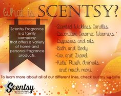 What is Scentsy??   https://ashleeflamisch.Scentsy.US