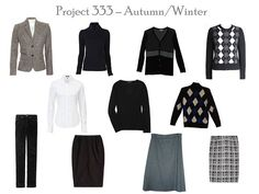 The Vivienne Files: Project 333: beyond the autumnal equinox