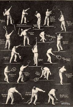 1920 How to Play Tennis #tennishowtoplay #tennistips