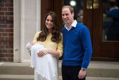 William and Kate spend first day at home with Britain's new princess