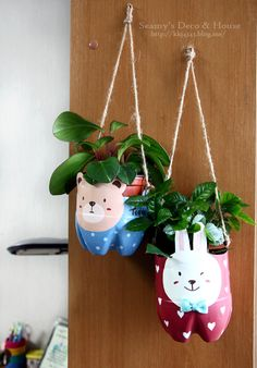 Plastic Bottle Pet Pot http://www.handimania.com/diy/plastic-bottle-pet-pot.html