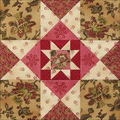 Civil War Quilts: Threads of Memory 2: Mercer County Star for Susan ...
