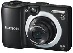 Canon PowerShot A1400 16.0 MP Digital Camera with 5x Digital Image Stabilized Zoom 28mm Wide-Angle Lens and 720p...