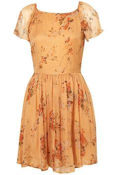 pretty floral #dress
